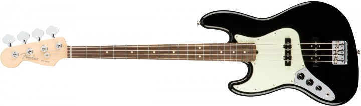 Fender American Professional Jazz Bass Lefthand (Rosewood/Black/inkl. Case)