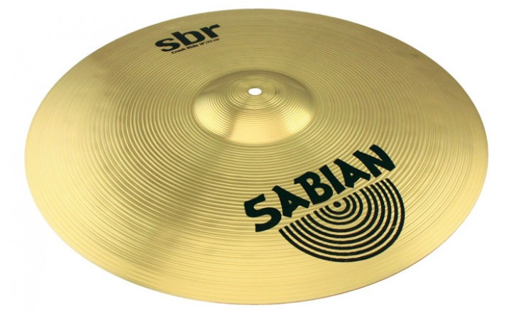 Sabian SBR Brass Crash-Ride 18