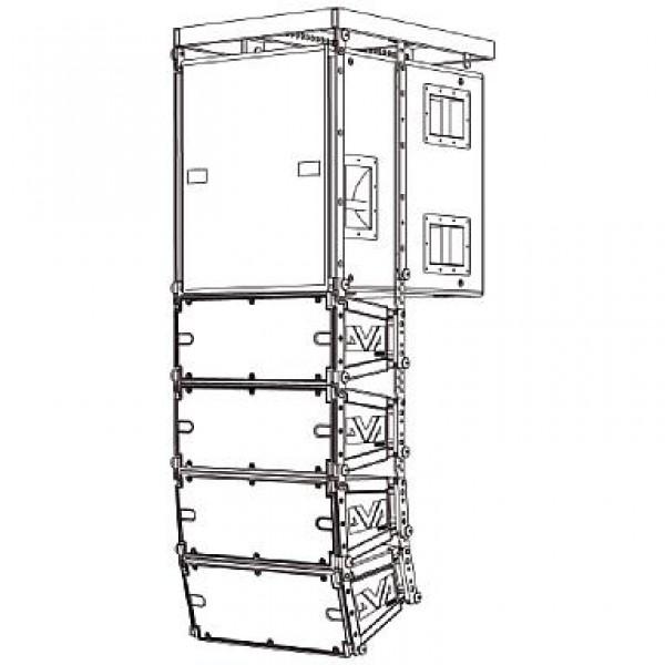 DRK-10W Rigging-Kit (Weiss / für 10x DVA-T4)