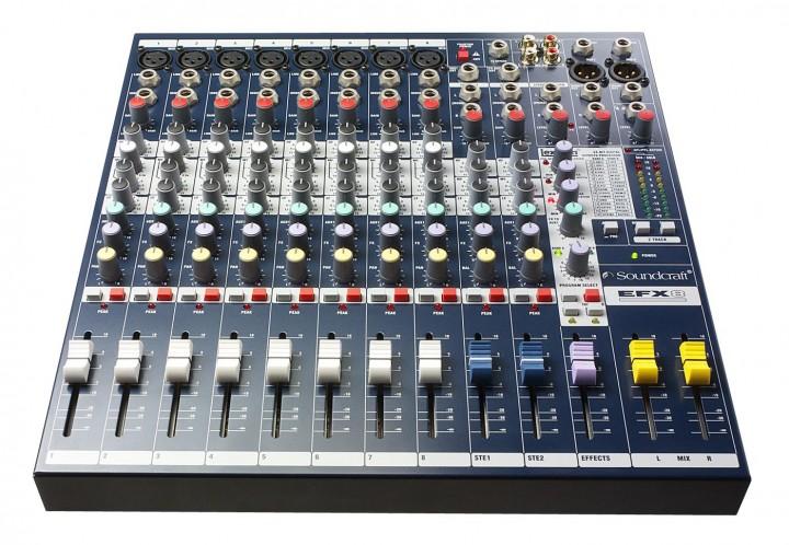 Soundcraft EFX8 Kompaktmischer