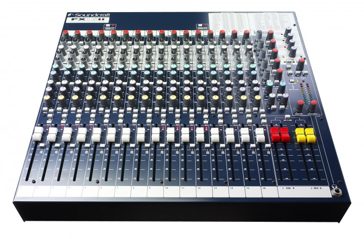 Soundcraft FX16II Kompaktmischer