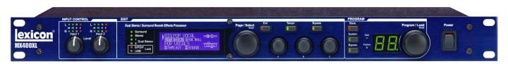 Lexicon MX400XL Reverb-Effektprozessor (4-Kanal / USB / XLR)