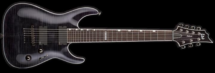 ltd h 1007 e gitarre see thru black e gitarren e. Black Bedroom Furniture Sets. Home Design Ideas