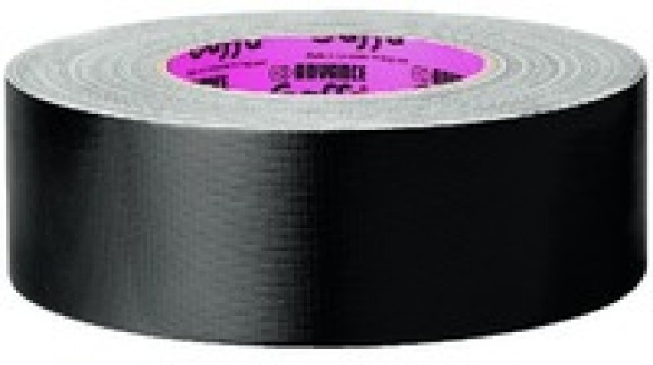 Monacor AT-202/SW Gaffa Tape (spezial, schwarz)
