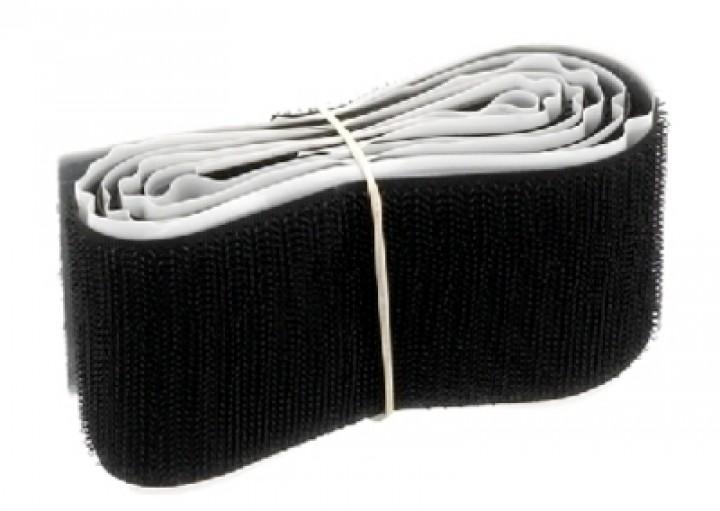 CS-550/SW Klettband (selbstklebend/50cm/schwarz)