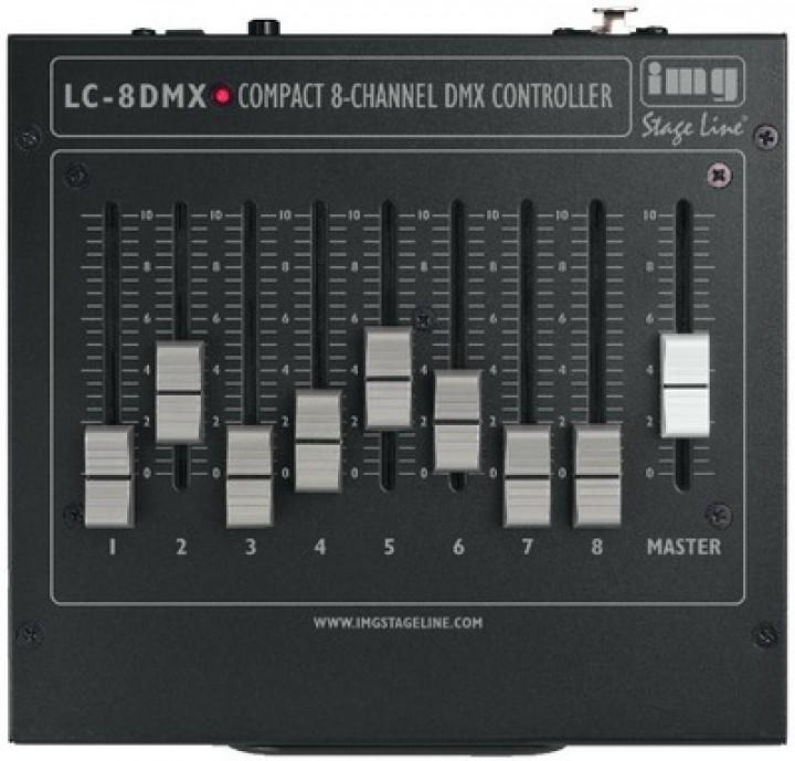 LC-8DMX DMX-Controller