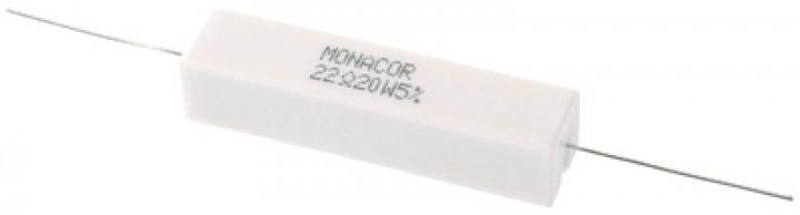LSR-220/20 Hochlast-Zementwiderstand (20 Watt/22 Ohm)