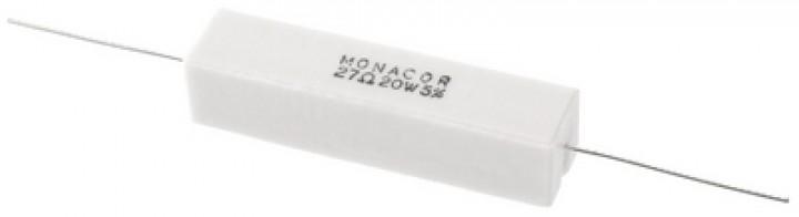 LSR-270/20 Hochlast-Zementwiderstand (20 Watt/27 Ohm)