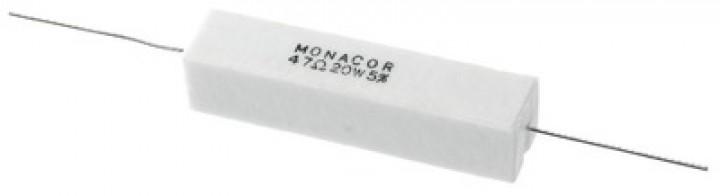LSR-470/20 Hochlast-Zementwiderstand (20 Watt/47 Ohm)
