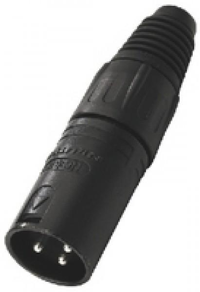 Neutrik NC-3MXBAG XLR-Stecker (3-Pol)