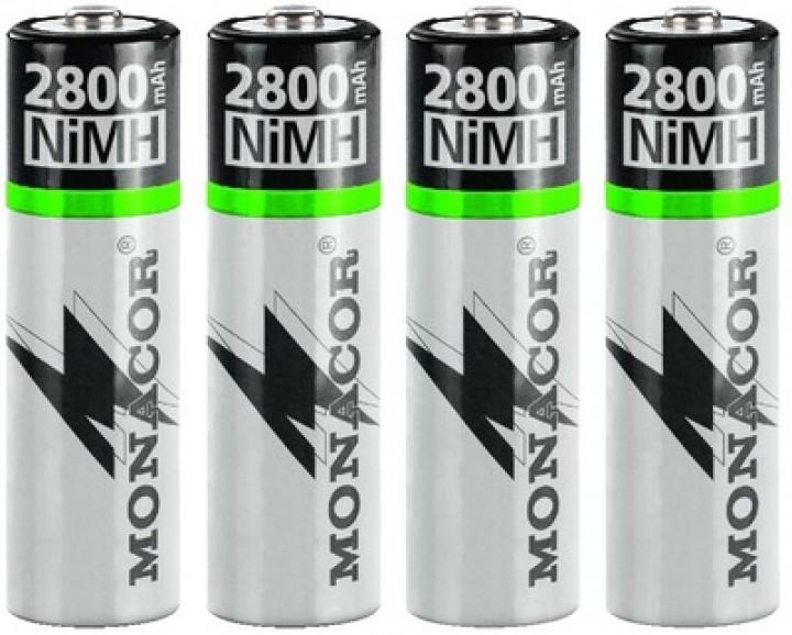Panasonic NIMH-2800/4 NiMH-Mignon-Akkus (4er-Set)
