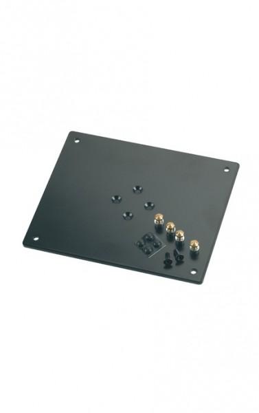 K & M 26792024 Aufnahmeplatte zu Monitor-Ständer 240x5x200