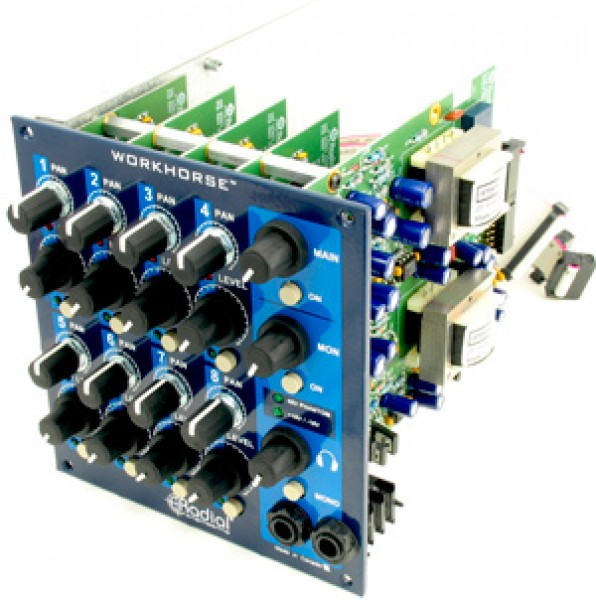 Radial WM-8 Summing Mix Option (WR-8 Rack)