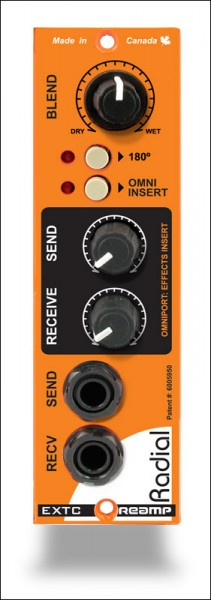 Radial EXTC 500 Effekt Send/Receive Modul