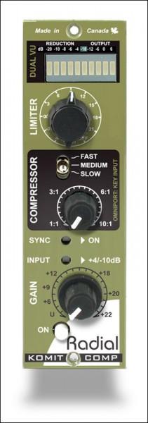 Radial KOMIT 500 Kompressor/Limiter Modul