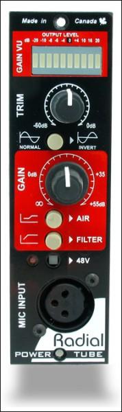 Radial Power Tube 500 Mikrofon-Preamp Modul