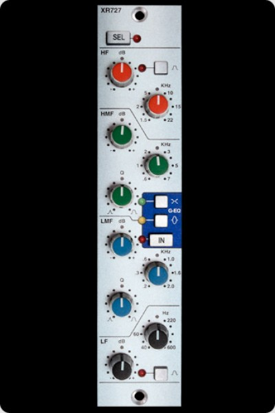 Solid State Logic X-Rack Stereo Equalizer-Modul (XRack)
