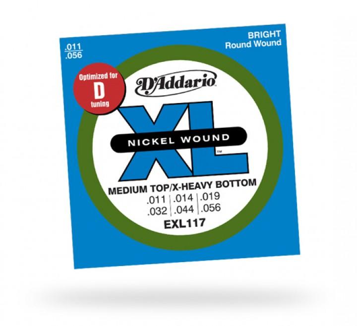D'Addario EXL117 .011-.056 (Nickel Round Wound)