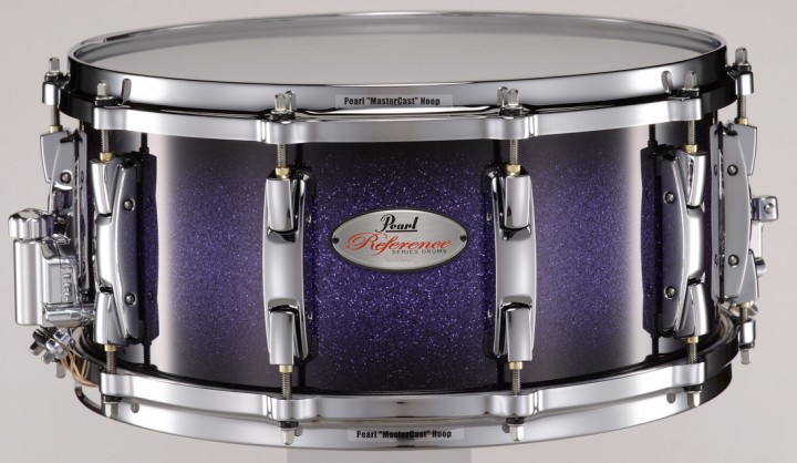 PEARL Reference RF1465SCPC Snare-Drum (Purple Craze II/Chrome HW)