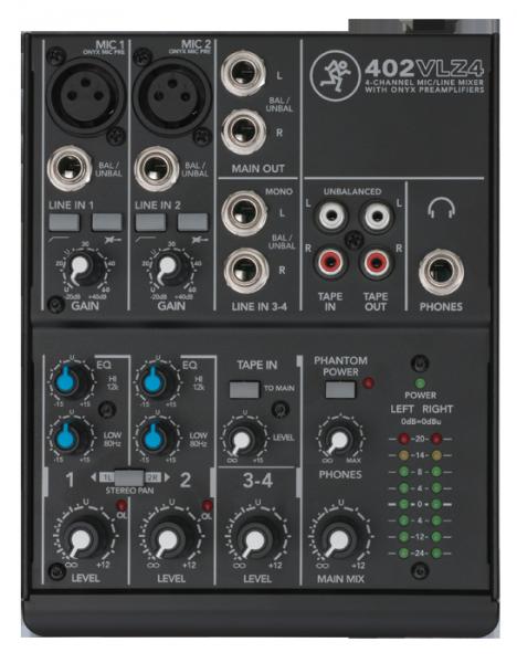 Mackie 402-VLZ4 Audiomixer