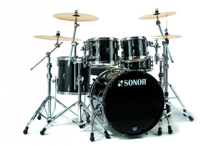 SONOR PL 12 Stage 3 NM Drumset (Brillant Black/BD 22