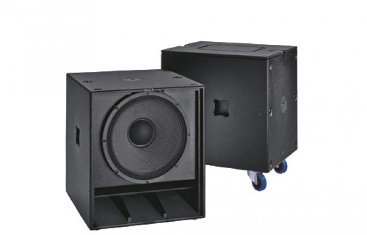 SW 118E-XO Subwoofer Touring (inkl. Frequenzweiche)