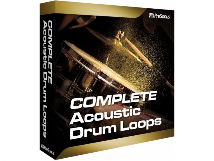 Presonus Acoustic Drum Loops Vol. 2 Complete