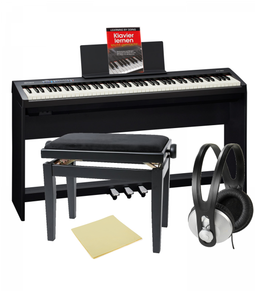 Roland Fp 30 Bk Digitalpiano Bundle Schwarz Piano Bundles Bundle 24music Ch