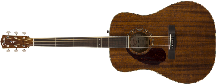 Fender PM-1 Dreadnought Westerngitarre (Mahagoni/Lefthand/Natural)