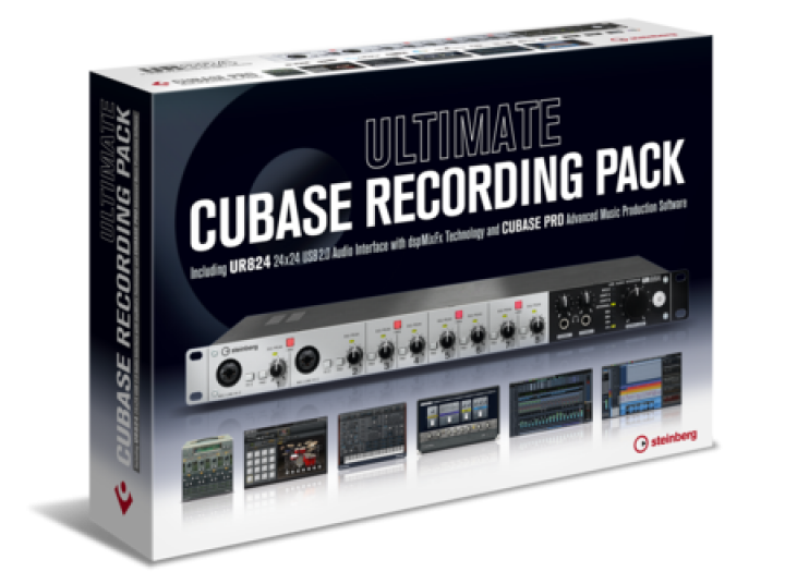Steinberg Ultimate Cubase Recording Pack (UR824/Cubase Pro 9.5)