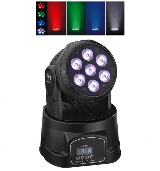 WASH-40LED/SW Mini LED Moving Head (schwarz)