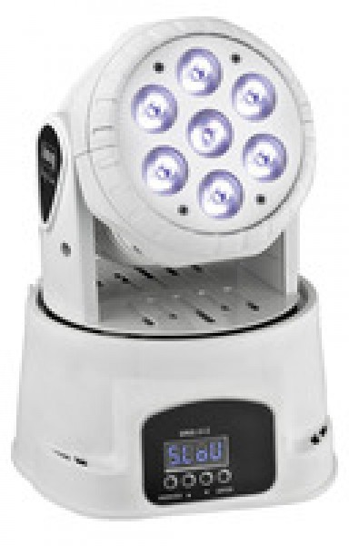 WASH-40LED/WS Mini LED Moving Head (weiss)